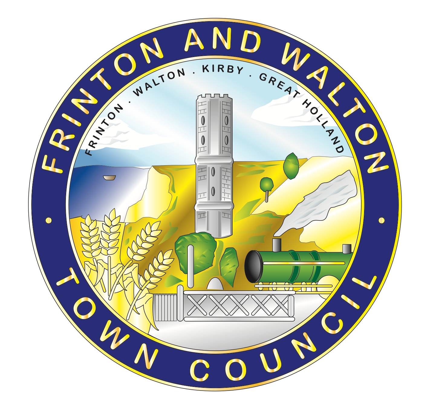 Frinton and Walton Town Council Logo