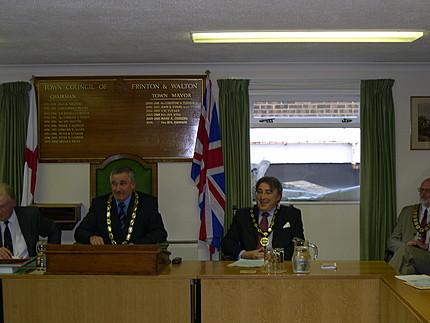 Town Mayor and Deputy Mayor